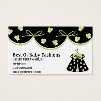 Best Of Baby Fashions Business Card