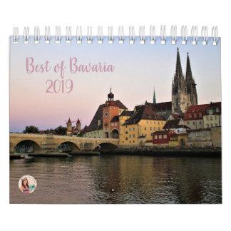 Best of Bavaria 2019 Calendar