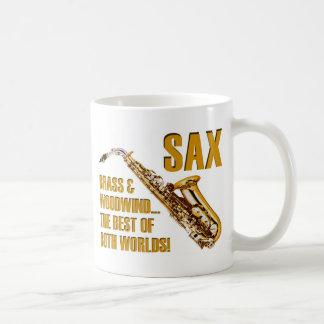 Best of Both Worlds Classic White Coffee Mug