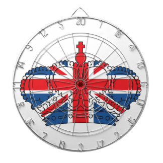 Best of British, Crown, Union Jack Dart Board
