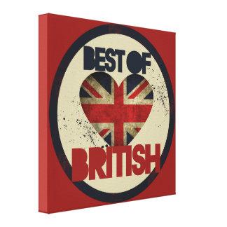Best of British Gallery Wrap Canvas