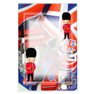 Best of British Souvenirs Dry-Erase Board