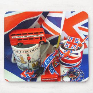Best of British Souvenirs Mouse Pad