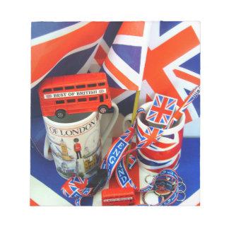 Best of British Souvenirs Scratch Pads