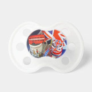 Best of British Souvenirs Pacifier