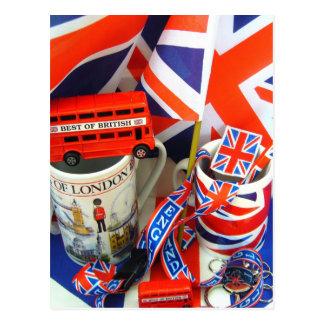 Best of British Souvenirs Postcard