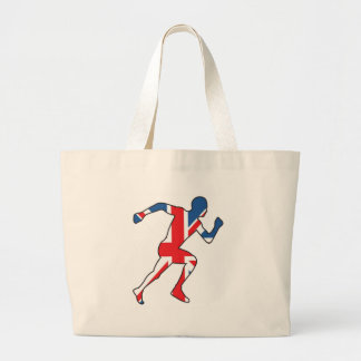 Best of British Sport Athlete Large Tote Bag