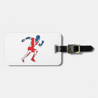 Best of British Sport Athlete Travel Bag Tags