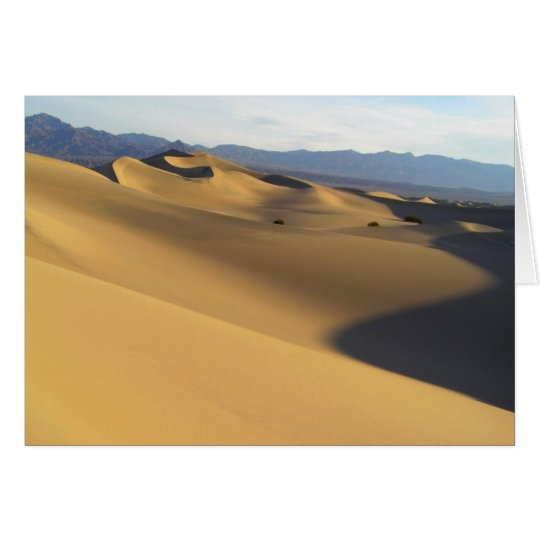 Best of Death Valley Blank Card