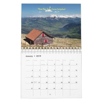 Best of Europe 2019 Calendar
