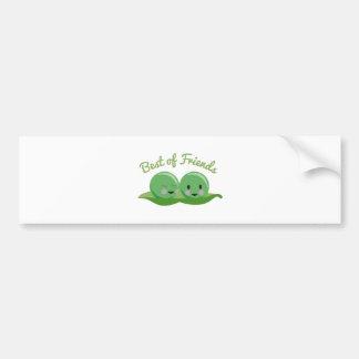 Best Of Friends Car Bumper Sticker