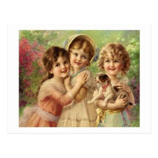 Best of Friends - Émile Vernon Postcard