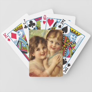 Best of Friends in detail by Emile Vernon Bicycle Playing Cards