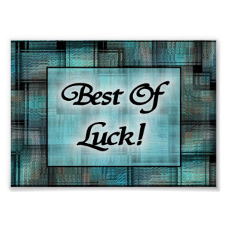 Best Of Luck! Poster