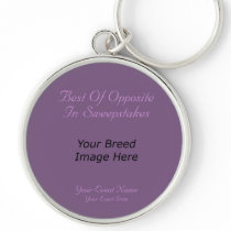 Best Of Opposite In Sweepstakes Keychain