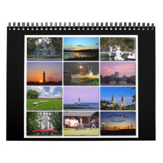 Best of Savannah, Georgia Calendar