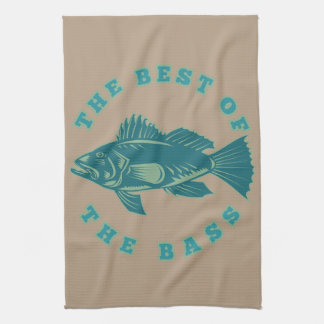 Best of the Bass Kitchen Towels