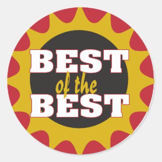 Best of the Best Classic Round Sticker
