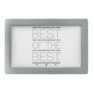 best-of-the-best rectangular belt buckle