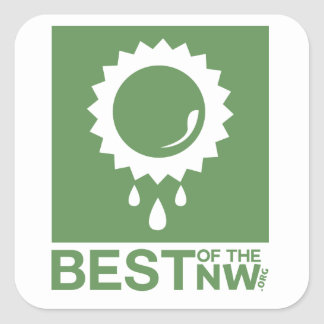 Best of the NW Square Sticker