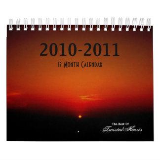 Best of TwistedHearts, 12 Month Calendar, ... Calendar