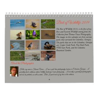 Best of Wildlife 2019 Calendar