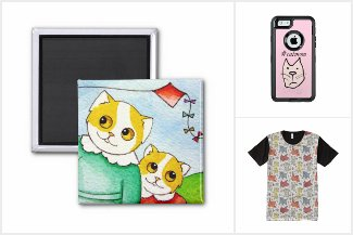 best of Zazzle cats