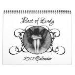 Best Of Zindy 2012 Calendar