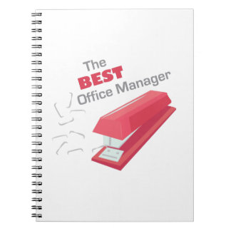 Best Office Manager Spiral Notebooks