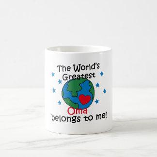 Best Oma Belongs to me Coffee Mug