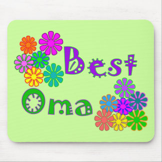 Best Oma  Mother's Day Gifts Mouse Pad