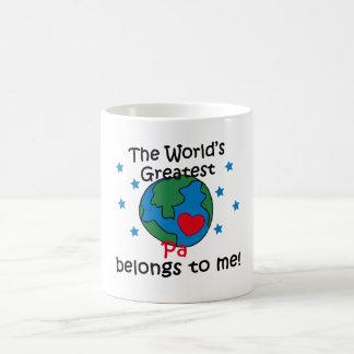 Best Pa Belongs to me Coffee Mug