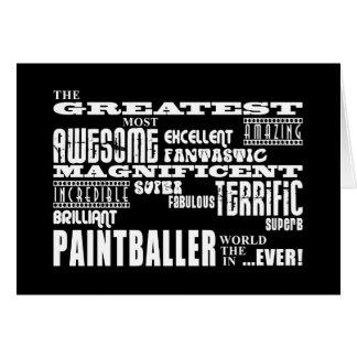 Best Paintballers : Greatest Paintballer Card