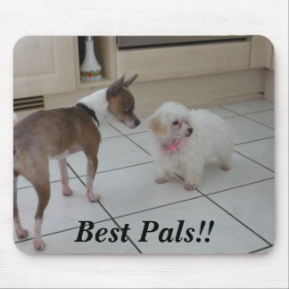 Best Pals!! Mouse Pad