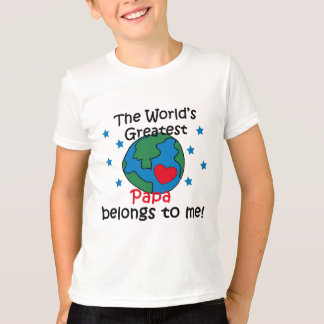 Best Papa Belongs to me T-Shirt