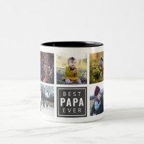Best PAPA Ever Custom Photo Mug