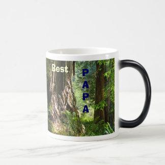 Best Papa Morphing coffee cup mug Redwoods