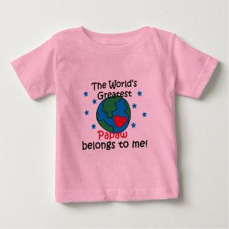 Best Papaw Belongs to me Baby T-Shirt