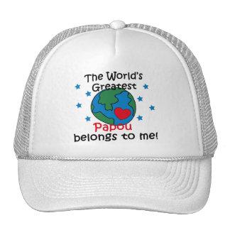 Best Papou Belongs to me Trucker Hat