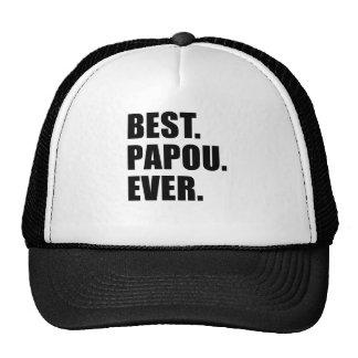 Best Papou Ever Trucker Hat