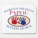 Best Papou Hands Down Mouse Pad