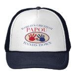 Best Papou Hands Down Trucker Hat