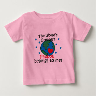 Best Pappou Belongs to me Baby T-Shirt