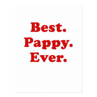 Best Pappy Ever Postcard