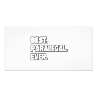 Best Paralegal Ever Personalized Photo Card