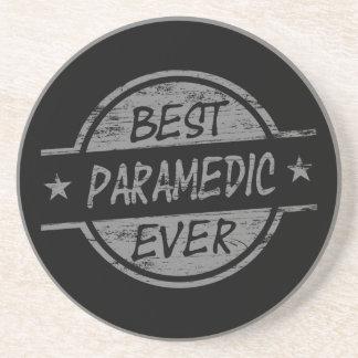 Best Paramedic Ever Gray Coaster