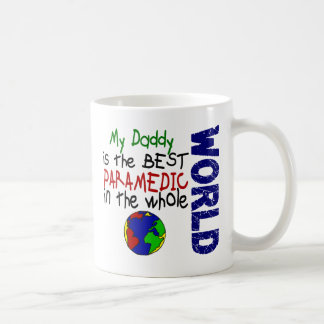 Best Paramedic In World 2 (Daddy) Classic White Coffee Mug