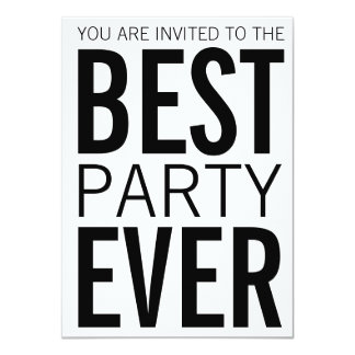 Best Party Ever Card