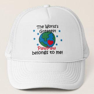 Best PawPaw Belongs to me Trucker Hat