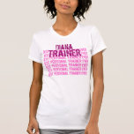 Best Personal Trainer Ever Custom Name Tshirt